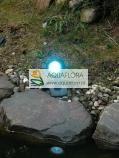 AquaLED RGB - 1 reflektor podwodny LED z funkcją zmiany kolorów za pomocą pilota