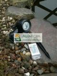 AquaLED RGB SET 3 - 3 reflektory podwodne LED z funkcją zmiany kolorów za pomocą pilota